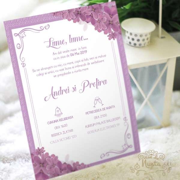 invitatie-nunta-flori-liliac