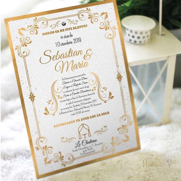 invitatie-nunta-le-chateau-aurie