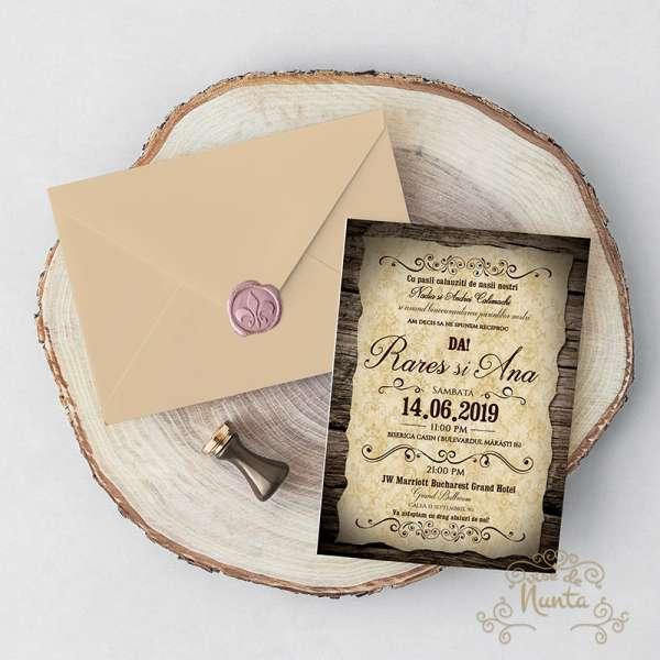 invitatie-nunta-rustic-pecete-ceara