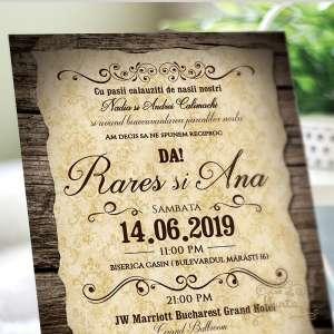 invitatie-nunta-rustic-lemn-vechi