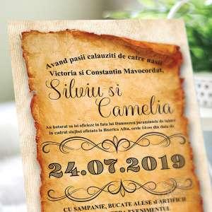 invitatie-nunta-3d-old-paper