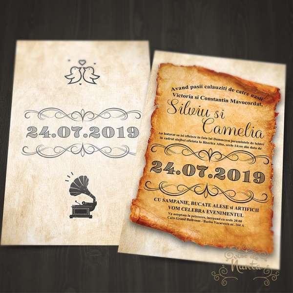 invitatie-nunta-vintage-hartie-veche